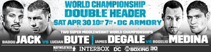 Badou Jack James DeGale Lucian Bute Rogelio Medina Boxing News