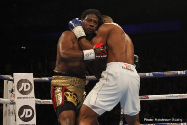 Anthony Joshua, Charles Martin - Anthony Joshua is the new IBF Heavyweight Champion of the World.