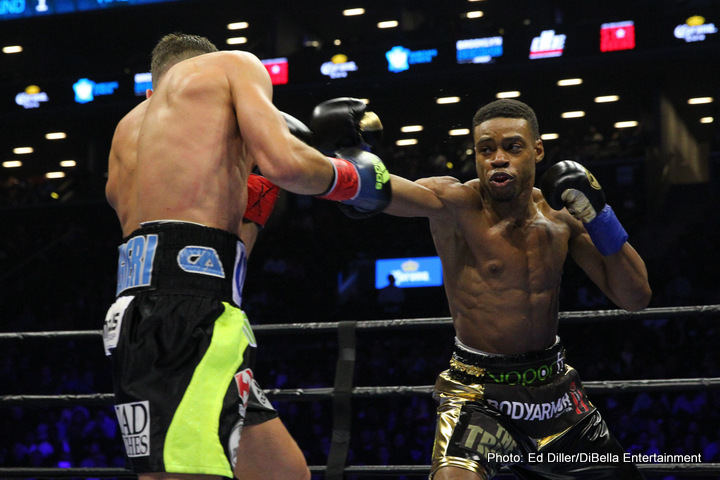 Chris Algieri Errol Spence Jr. Lou Dibella Boxing News