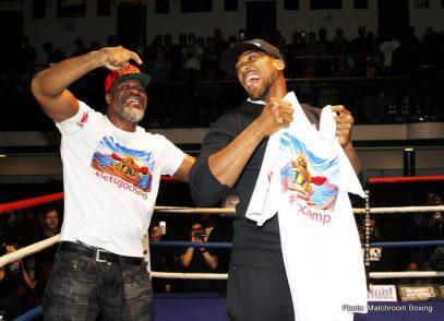 Anthony Joshua Boxing Interviews Boxing News British Boxing
