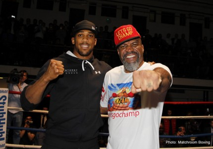 Anthony Joshua Interview, Videos, Photos