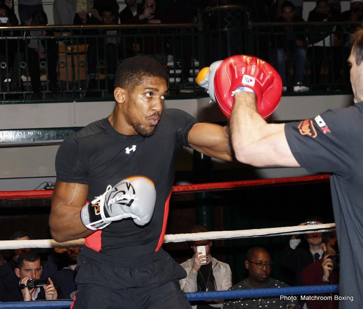 Anthony Joshua Tyson Fury Boxing News British Boxing