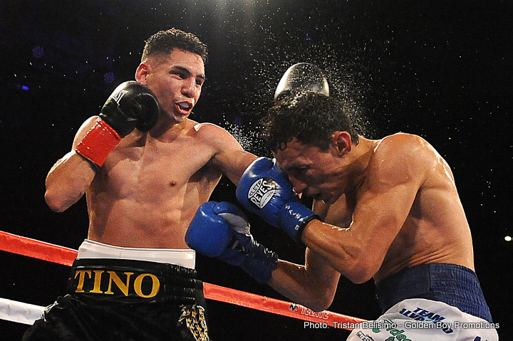 "Rene Alvarado -  LA FIGHT CLUB on April 1 continues to bring the best boxing to Los Angeles as Fairfield, Calif.'s Manuel ""Tino"" Avila (20-0, 8 KOs)took on Nicaraguan warrior Rene ""Gemelo"" Alvarado (23-7, 16 KOs) in an exciting 10-round featherweight bout from the Downtown  Belasco  Theater broadcast live on Boxeo Estellar on Estrella TV. The nearly sold out event saw the likes of an exciting group of special guests including NBA superstar and Los Angeles Laker's player Metta World Peace and Golden Boy stable mates Hector ""El Finito"" Tanajara, Chirstian ""Chimpa"" Gonzalez, Jesus ""Renuente"" Soto Karass, Carlos ""The Solution"" Morales, Francisco ""El Bandido"" Vargas, Nick Arce, Rafael Gramajo, Oscar ""El Jaguar"" Negrete and Jonathan ""Thunder"" Navarro."