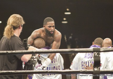 "Adrien Broner feeling mean, says anyone he gets in the ring with he's going to ""do damage to"""