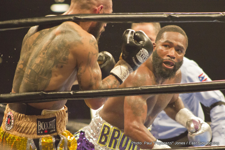 Adrien Broner Ricky Burns Boxing News