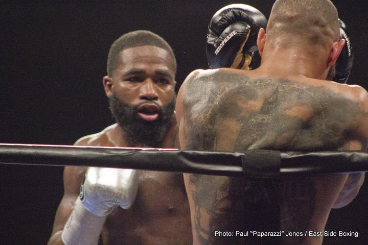 Adrien Broner Ricky Burns Boxing News