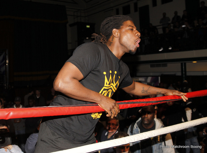 "Charles Martin KO's Marrone in one; ""Prince"" Charles now 2-0(2) in post-Joshua comeback"