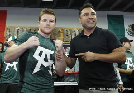 De La Hoya assures us Canelo-GGG super-fight will not be like Mayweather-Pacquiao; says it won't take, six, seven years to get done