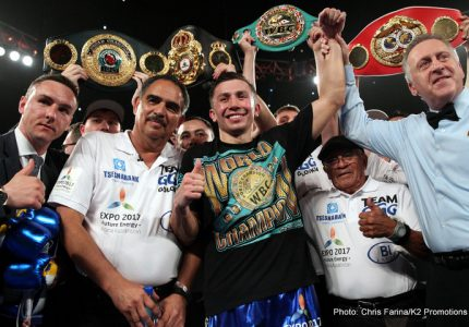 Gennady Golovkin-Kell Brook a real possibility says Loeffler