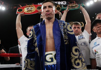 Golovkin-Wade brings in big ratings on HBO