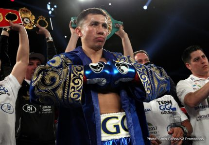 Golovkin to attend Canelo-Khan fight