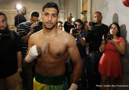 Khan: Mayweather is feeling like he's old news; I'll mess him around like he did me
