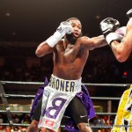 """Ashley Theophane - Adrien """"Problem"""" Broner (32-2, 24KO) stopped Ashley Theophane 39-7-1, 11KO) in nine at the D.C. Armory, Wash D.C.  No big deal.  Everyone expected him to win.   It just took a little longer than he predicted.  The real story was the current episode of the Problem Child's soap opera life.  Just as television series often do, fans (audiences) were initially left hanging."""