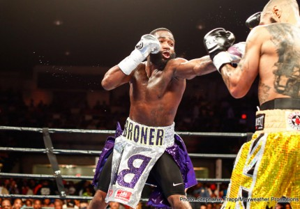 Broner manages to paint himself as victim
