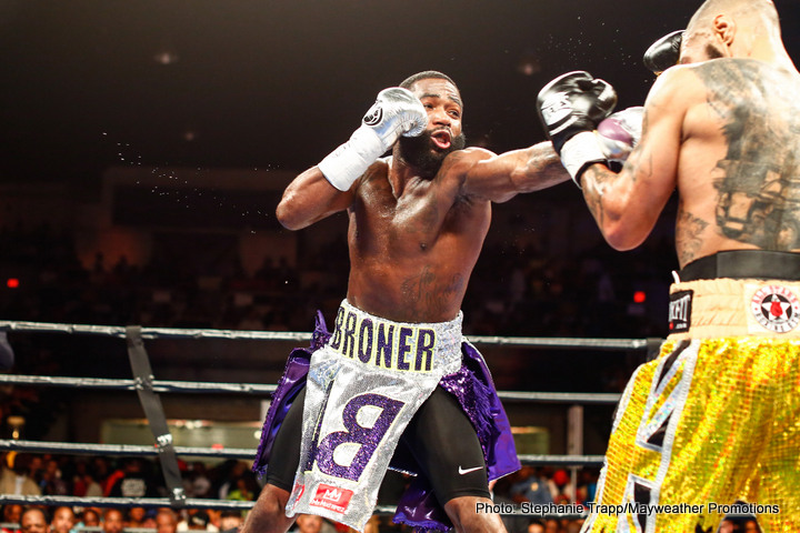 "Adrien Broner, Ashley Theophane - Adrien ""Problem"" Broner (32-2, 24KO) stopped Ashley Theophane 39-7-1, 11KO) in nine at the D.C. Armory, Wash D.C.  No big deal.  Everyone expected him to win.   It just took a little longer than he predicted.  The real story was the current episode of the Problem Child's soap opera life.  Just as television series often do, fans (audiences) were initially left hanging."