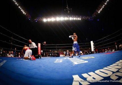Robert Easter Jr. stops Algenis Mendez
