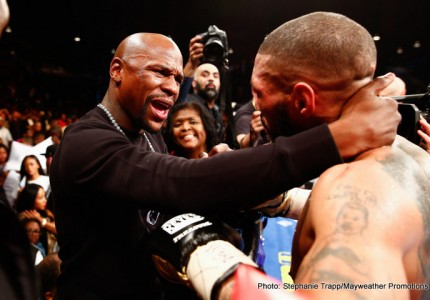 Is Floyd Mayweather Jr still the biggest name in boxing and MMA?
