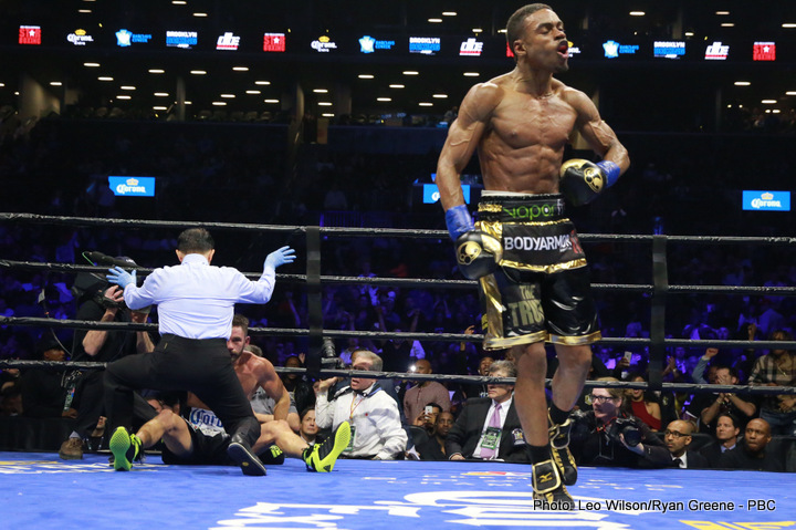 Errol Spence Jr., Kell Brook - Boxing News
