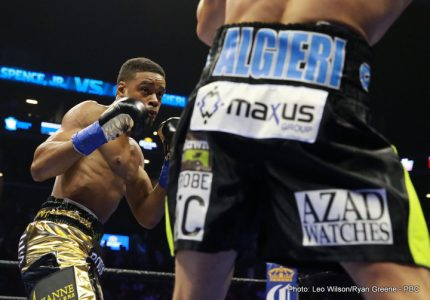 Brook vs  Spence  set to be officially announced this week or early next – May 27 at Bramall Lane