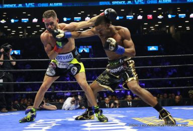 Chris Algieri Errol Spence Marcus Browne Boxing News Boxing Results