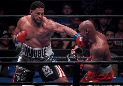 Anthony Joshua vs Dominic Breazeale on June 25