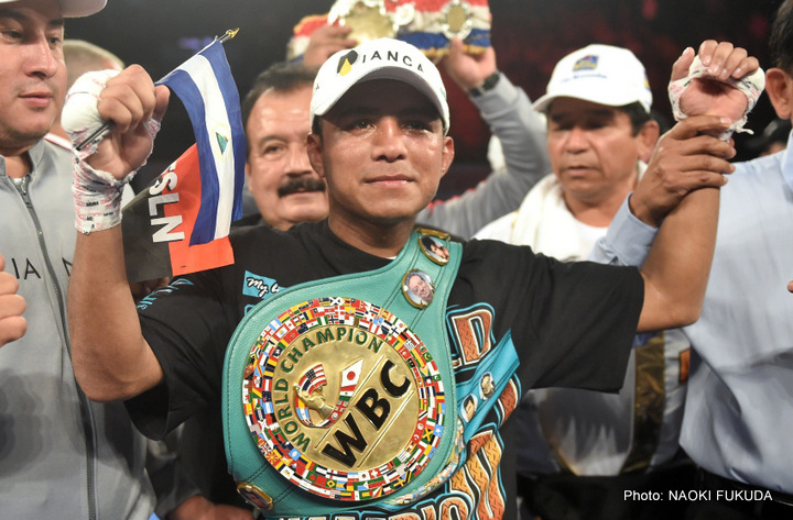 "Roman Gonzalez - LOS ANGELES (July 13, 2016) Consensus #1 Pound-for-Pound Fighter in the World and WBC Flyweight World Champion Roman ""Chocolatito"" Gonzalez, (45-0-0, 38 KOs) will move up one weight class and challenge undefeated WBC Super Flyweight World Champion Carlos ""Principe"" Cuadras, (35-0-1, 27 KO's) on Saturday, September 10 from the Fabulous Forum in Los Angeles. The event will be televised live on HBO World Championship Boxing beginning at 10:00 p.m. ET/PT."