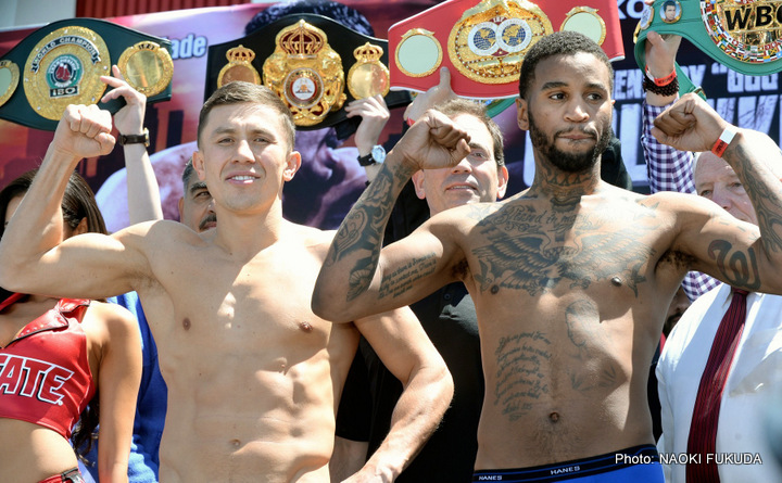 Dominic Wade Gennady Golovkin Boxing News