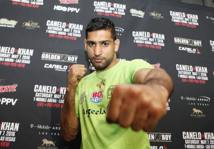 "Saul Canelo Alvarez-Amir Khan this Saturday: Khan ready to ""shock the world"""