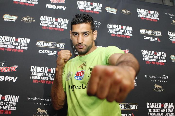 "Amir Khan Saul ""Canelo"" Alvarez Boxing News Top Stories Boxing"