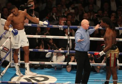 Anthony Joshua Charles Martin Boxing News Boxing Results British Boxing Top Stories Boxing