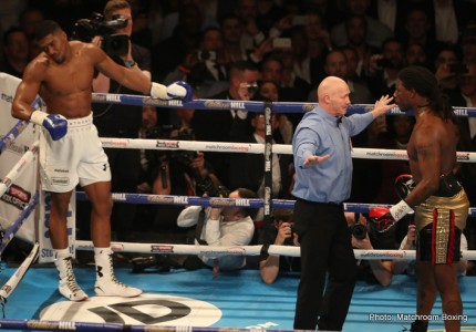 "Tyson Fury and Deontay Wilder are Anthony Joshua's ""top priority now"" says Hearn"