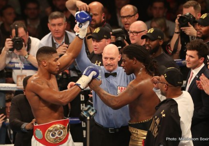 Anthony Joshua likely to make first IBF title defence against a US fighter in bid to crack pay-per-view market: four names in the mix