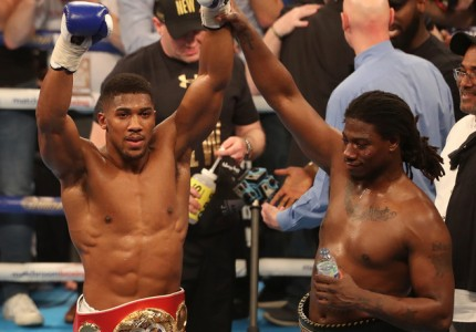 Anthony Joshua: I want to maintain this for a decade