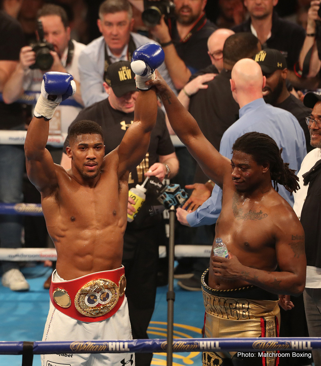 "Charles Martin - While newly crowned IBF champ Anthony Joshua says it's ""cool"" to have won his first world title, the unbeaten heavyweight star - already a household name in the UK and closing in on international stardom - insists there is far, far more to come. In fact, the 26-year-old (young for a heavyweight, especially these days) says he wants to fight at the highest level for a further decade; until he turns 35."