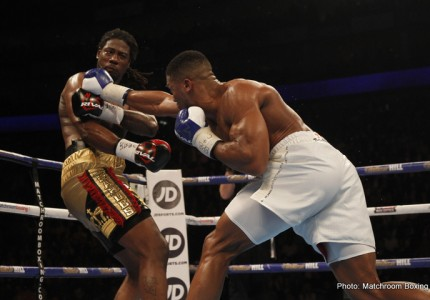 """Joshua's first title challenger down to three likely names; Hearn says A.J wants """"a real fight"""""""