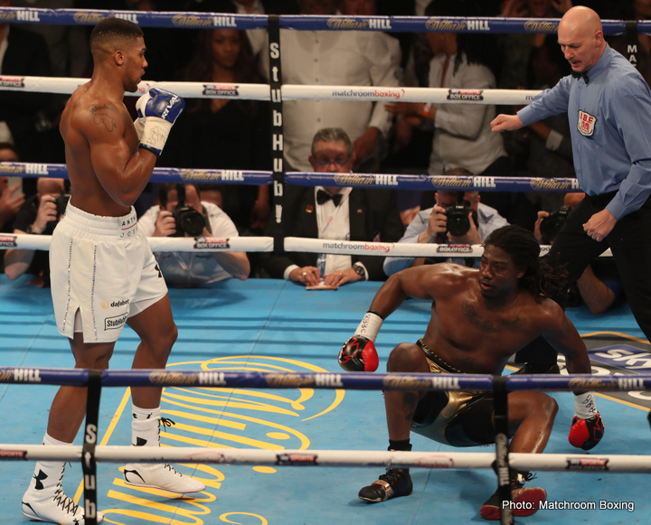 Anthony Joshua Charles Martin Boxing News Boxing Results