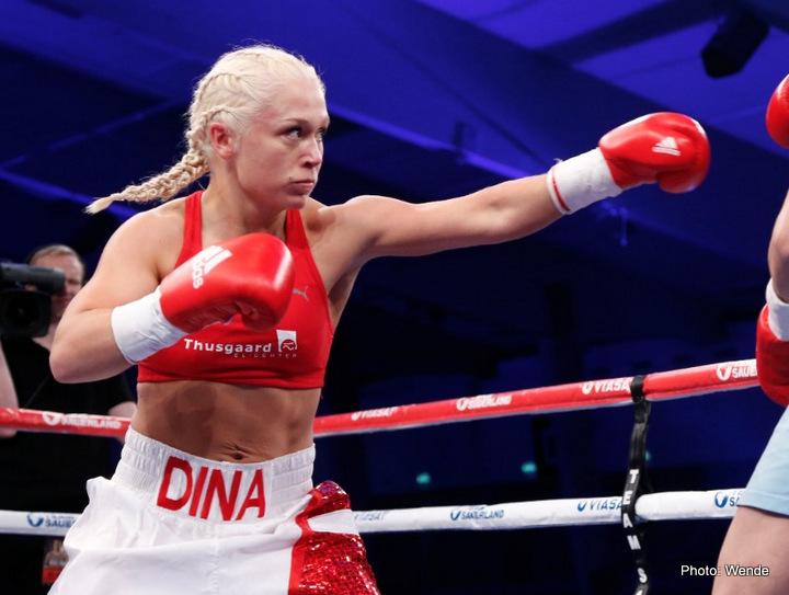 Dina Thorslund - Dina Thorslund (6-0, 4 KOs) must prepare for her toughest career test having accepted the challenge of former two-time World Champion Galina Ivanova (16-11-4, 2 KOs).