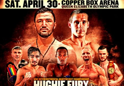 Fury vs Kassi at the Copper Box Arena on Saturday 30 April – Saunders Injured
