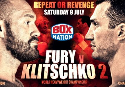 Tyson Fury to face Wladimir Klitschko at Manchester Arena