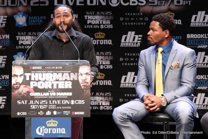 Keith Thurman, Shawn Porter - Boxing News