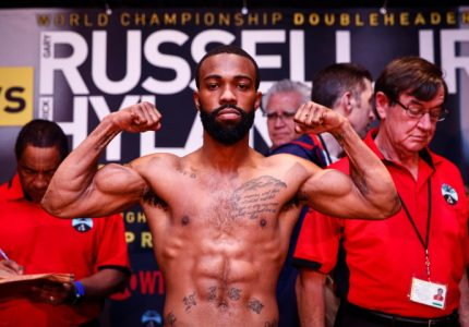 Russell Jr and Hyland make weight