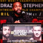 Gary Russell Jr. - (Credit: Stephanie Trapp/SHOWTIME) NEW YORK (April 13, 2016) - WBC Featherweight Champion Gary Russell Jr. (26-1, 15 KOs), of Capitol Heights, Md., and Irish contender Patrick Hyland (31-1, 15 KOs), of Dublin, faced off at the final press conference Wednesday at Highline Ballroom in New York, as they approach this Saturday's Featherweight World Title fight live on SHOWTIME® from the Fox Theater in Foxwoods Resort Casino in Mashantucket, CT.