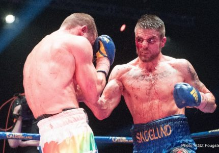 Skoglund and Lauren win title fights in Stockholm