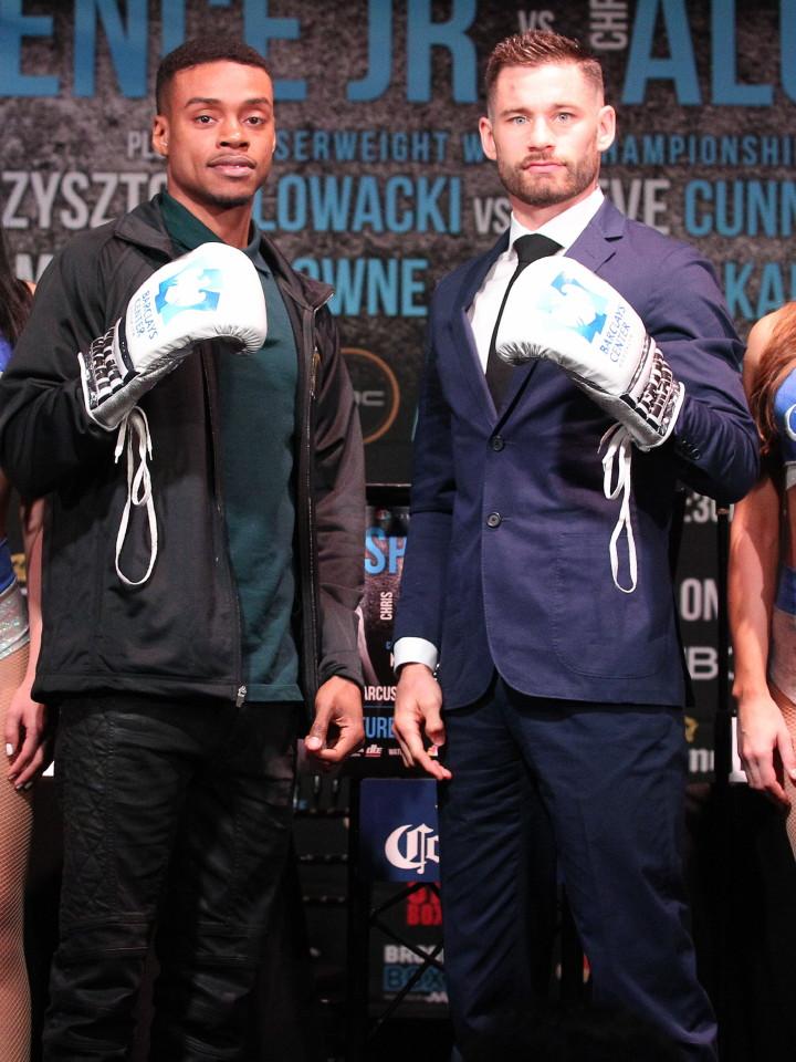 Chris Algieri Errol Spence Boxing News
