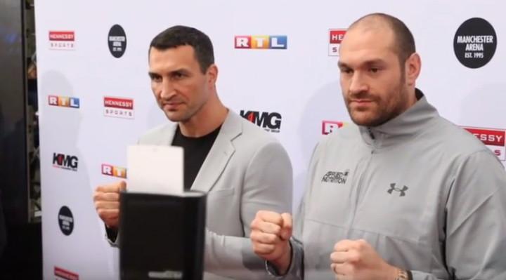 Tyson Fury Wladimir Klitschko Boxing News British Boxing