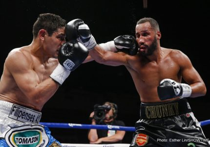 James DeGale beats Medina