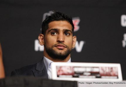 Khan: I'll get the January tune-up out of the way, then I want Garcia rematch in May