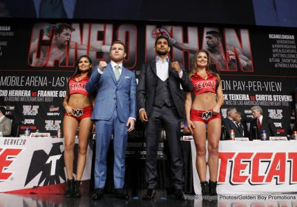 Golden Boy Promotions To Offer Boxing's First Megafight Of 2016 Canelo/Khan On Internet PPV