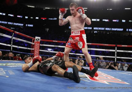 Canelo Alvarez vs Liam Smith on September 17 on HBO PPV