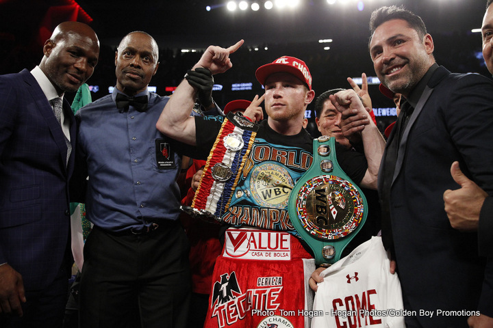 "Gennady Golovkin, Saul ""Canelo"" Alvarez - Welcome to another edition of Boxing's Devil's Advocate.  Today we examine the case of Saul ""Canelo"" Alvarez vs Genady ""GGG"" Golovkin, and consider the reasons why there really should be no rush to stage this contest.  Firstly, I acknowledge that Golden Boy productions, promoter of Saul Alvarez, and K2 productions, promoter of GGG, have a tacit agreement in place to have their respective fighters face off in the fall.  That, however, was originally based on a WBC mandatory, a blatant cash grab from a notoriously corrupt sanctioning body who threatened to strip Alvarez of a title he really shouldn't have, should he not face GGG."